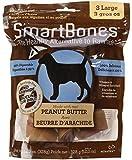 SmartBones Peanut Butter Dog Chew FamilyValue 2Pack (Large-3pieces)-Rzo