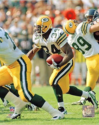 Edgar Bennett Green Bay Packers Action Photo (Size: 20