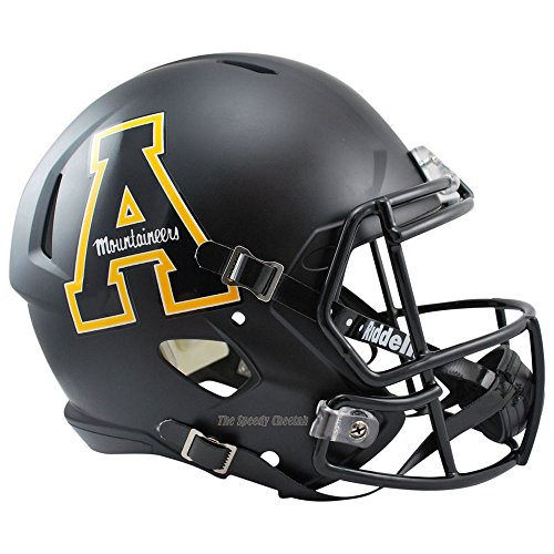 Appalachian State Mountaineers Officially Licensed NCAA Speed Full Size Replica Football Helmet by Riddell