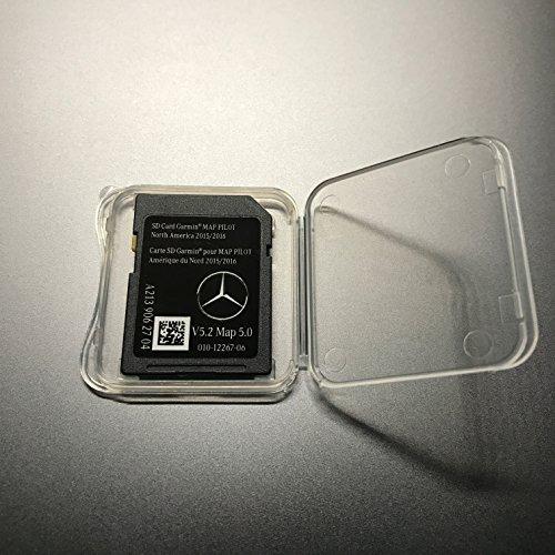 2015 2016 2017 Mercedes GLC C C300 C350 Sedan E250 E350 E400 E550 E63 E-Class Garmin SD Map Pilot Ver.5.2/ Map 5.0 A2139062704 (Sedan Mercedes C-class)