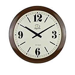SMC 20-inch Modern minimalist Ultra Thin wall art decoration fashion ultra quiet bedroom living room clock Plastic Frame