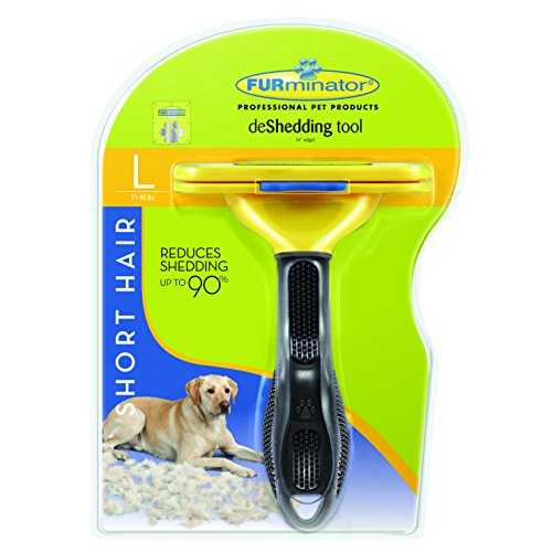 FURminator Short Hair deShedding Tool for Dogs, Large