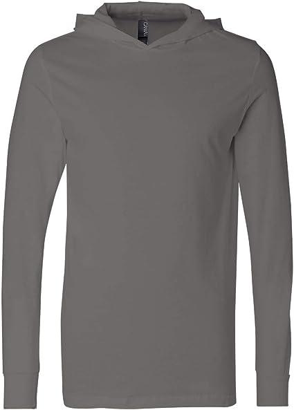 Unisex Jersey Long Sleeve HoodieCanvas