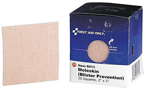 American Red Cross Moleskin, Flexible Fabric, PK10