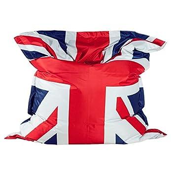 Quai 40 Pouf Géant Union Jack Aux Couleurs Du Drapeau Anglais Stunning Pouf En Anglais