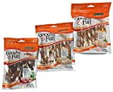 Healthy Hide Good'n'Fun Triple Flavor Twists and Triple Flavor Kabobs, Bundle of 3 Items For Sale
