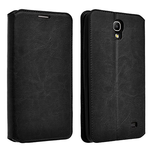 Samsung Galaxy Mega 2 G750 Case - Wydan (TM) Leather Wallet Style Case Folio Flip Stand 2 Card Slot Credit Card Book Style Cover - Black w/ Wydan Stylus - Cases Galaxy Att Mega Samsung