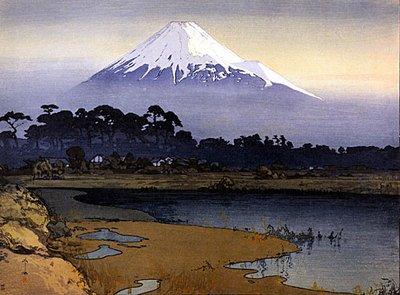 Mt Fuji Sunrise Japanese Art Print Japan By Yoshida Asian Art Japan