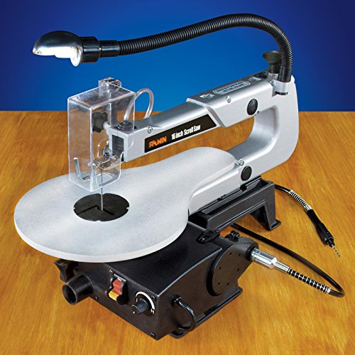 16 Inch Scroll Saw With Flexible Shaft Attachment