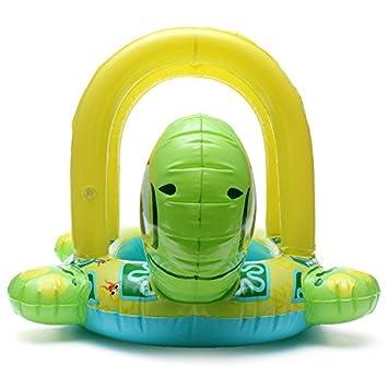 Baby baby Barco Natación anillo just4baby flotador Tortuga: Amazon.es: Deportes y aire libre