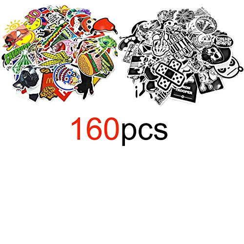 Motorcycle Skateboard Graffiti Stickers Colorful product image