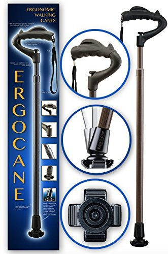 As Seen On TV Ergocane By Ergoactives. Fully-adjustable Ergonomic Cane ()