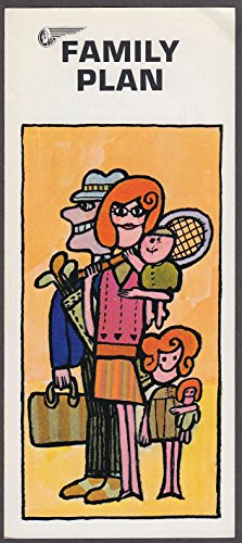 Mohawk Airlines Family Plan airline folder - Mohawk Airlines