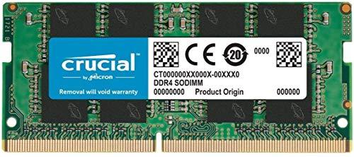 🥇 Crucial CT16G4SFRA266 Memoria RAM de 16GB