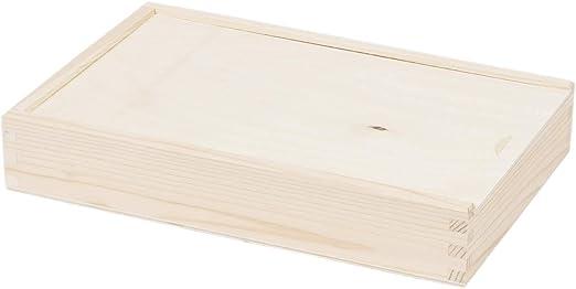 2 compartimiento rectangular caja de madera caja caja de madera ...