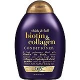 Acondicionador Para La Caida Del Cabello de Biotin & Colágeno- Tratamiento Para El Cabello Dañado y Maltratado- ✔ Producto 100% Garantizado 13 oz. X 2