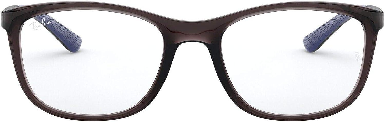 Ray-Ban unisex-adult Rx7169 Square Eyeglass Frames Square Prescription Eyeglass Frames