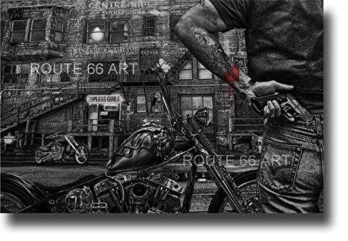 harley-davidson-chopper-colt-45-caliber-gun-saloon-reaper-art-print