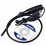 Waterproof Mini 7mm USB Flexible Inspection Camera Digital 200X Microscope Endoscope Magnifier TE02