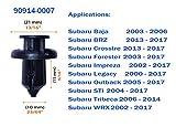 Noseeba Push Type Retainer Fasteners Rivets Clips