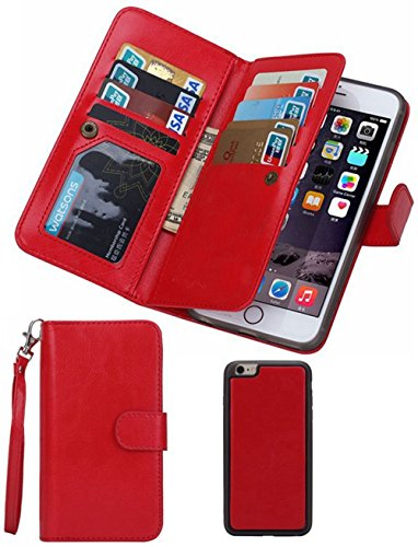 Summer Clearance Sale Day 2016Valentoria® For iPhone 6plus Wallet Case,Valentoria® Leather...