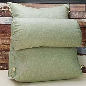 Amazon Com C Ctn Fashion Cotton And Linen Backrest Pillow