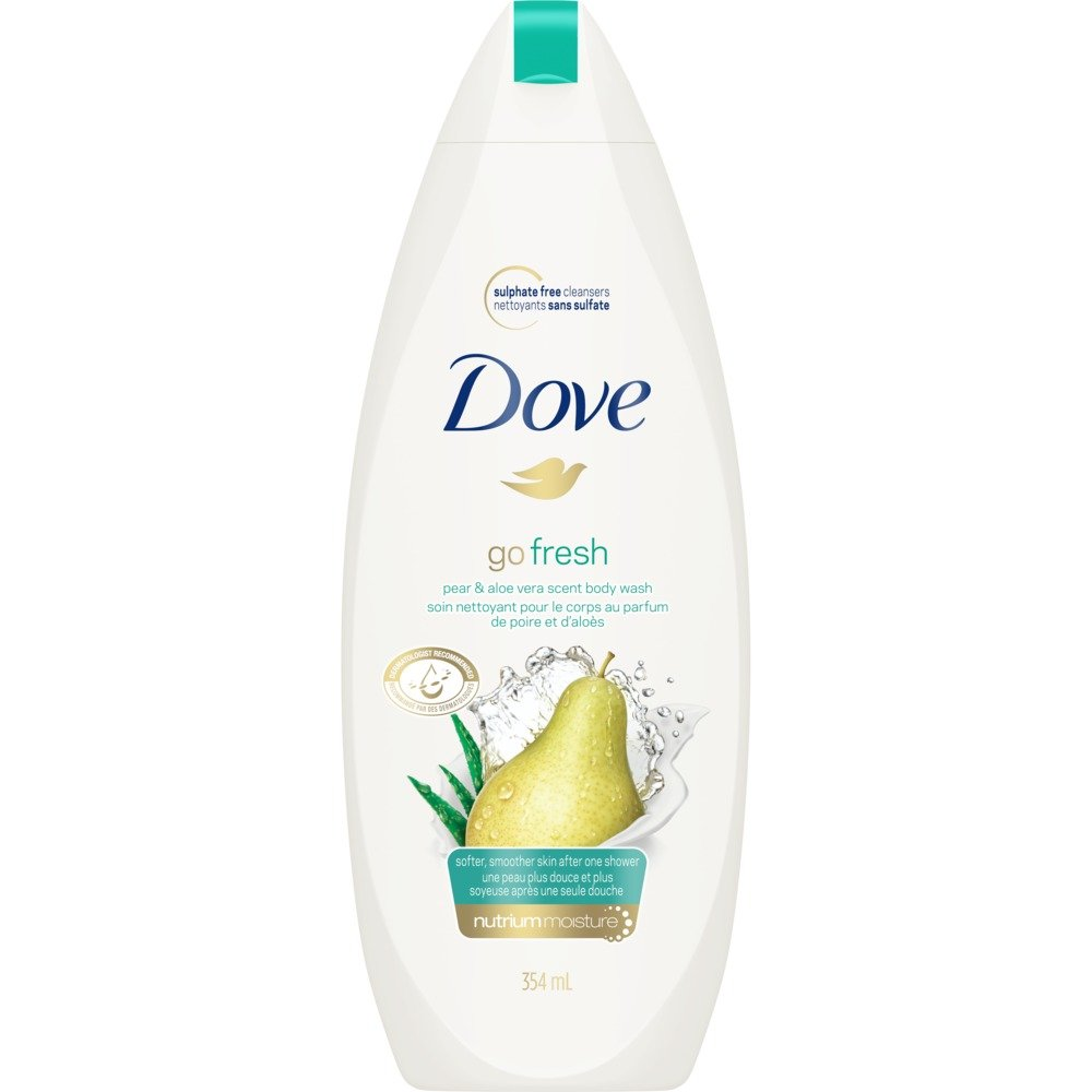 Dove Go Fresh Pear and Aloe Vera Body Wash, 650g Unilever