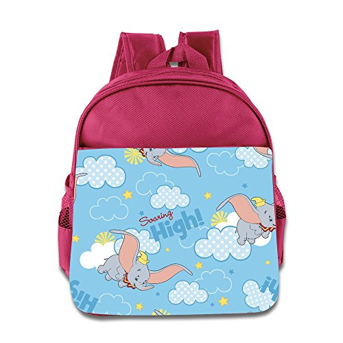 Toddler Kids Dumbo School Backpack Cartoon Baby Boys Girls School Bag