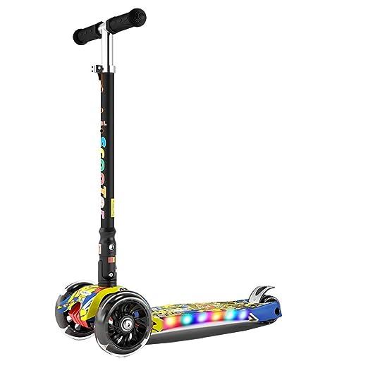 HhGold Scooter para niños 3-6-14 Niños 2 Tres o Cuatro ...