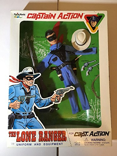 captain action the lone ranger uniform and equipment