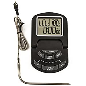 Padshow Digital Cooking Thermometer/Timer