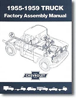 1955 1959 chevy chevrolet truck assembly manual with decal gm gmc rh amazon com 55 Chevy Show Truck 55 Chevy Show Truck
