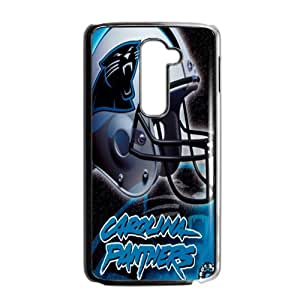 YESGG NFL Carolina Panthers Helmet Cell Phone Case for LG G2