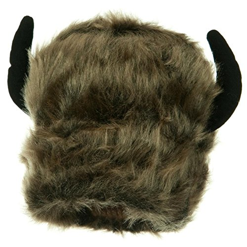 Cabin Boy Costumes (Furry Buffalo Bison Horn Lodge Hat)
