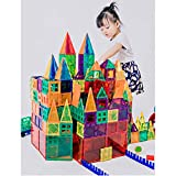KUHU Magnetic Assembly Toy Light Magnetic Building Blocks Color Window Magnetic Piece Children Assembled Toys