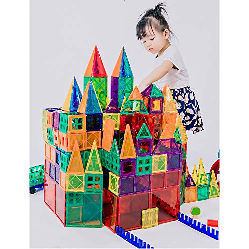 KUHU Magnetic Assembly Toy Light Magnetic Building Blocks Color Window Magnetic Piece Children Assembled Toys by KUHU (Image #5)