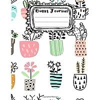 Bullet Journal: A4 - 156 paginas - Plantas - Hojas - Arboles - Otono - Patrones (156 paginas en blanco numeradas, punteadas y dot grid / bullet journal) (Spanish Edition)