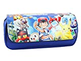 Pokemon Anime Game Cartoon Comic Cosmetic/Pencil Zipper Bag In Gift box by Superheroes