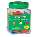 Paper Magic 867460 Eureka Tub Of Counters, 200 Counters in 3 3/4-Inch x 5 1/2-Inch x 3 3/4-Inch Tub