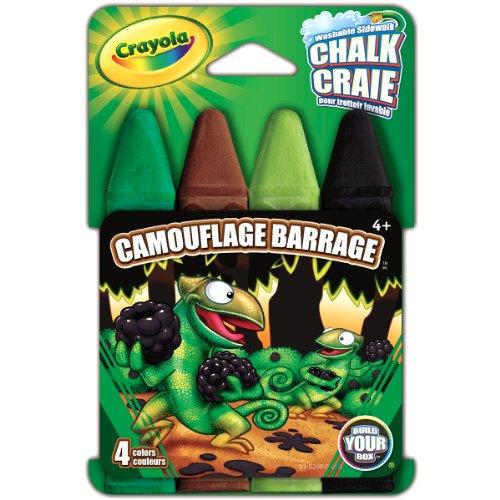 Crayola Build Camouflage Barrage Chalk