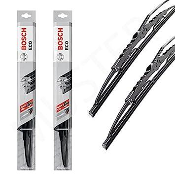 2 x Limpiaparabrisas BOSCH Eco - Manchas hojas bdb55 C50 C de 307 - 55 C tnp-50 C: Amazon.es: Coche y moto