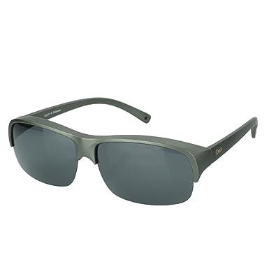 Duco Herren und Damen Sonnenbrillen Polarisiert Unisex Brille Überbrille für Brillenträger Fit-over Polbrille 8953 M - Wein Rot, Braun