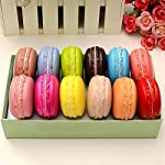 Longpro-Realistic-Artificial-French-Macaroons-Fake-Macaron-for-Display-High-Simulation-Artificial-Dummy-Macaroon-12-PCS-Studio-Photo-Prop-DIY-Decoration-Accessories-Artificial-Dessert-Cake-Food-Toys