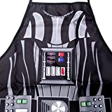 FASHION ALICE Star Wars Darth Vader Be The Character Hero Character Series Modern Family Apron Couple Kitchen Aprons Funny Personality Sexy Originality Cooking Aprons Gift,Include Greeting Card