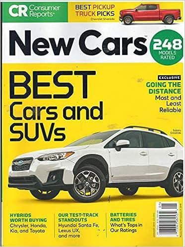 Amazon.com: Consumer Reports New Cars Magazine January 2019 ...