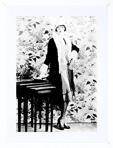 9x7 '' VINTAGE PHOTO ACTRESS LOUISE BROOKS SILENT STAR FRAMED ART PRINT F97X1781