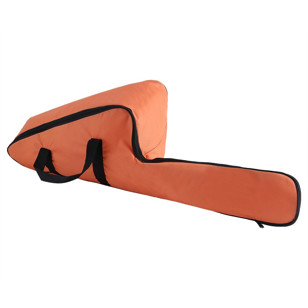 Chainsaw Carrying Bag Portable Orange Oxford Cloth Case Protective Storage Bags Holder The Great Helper for Men Woodworking Lumberjack Zerodis