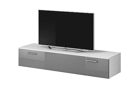 Pannello Porta Tv Orientabile Ikea.E Com Mobile Tv Armadio Supporto Boston Frontale Colore Bianco