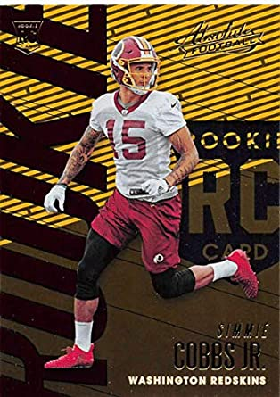 best cheap ca3dc 48cd9 Amazon.com: 2018 Absolute Football #108 Simmie Cobbs Jr ...
