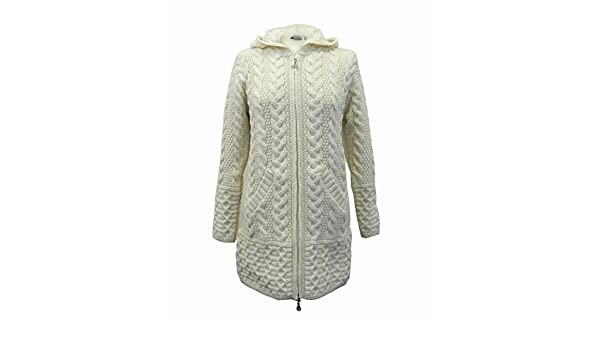 The Irish Store - Irish Gifts from Ireland - Sudadera con capucha - para mujer Marrón natural Small: Amazon.es: Ropa y accesorios